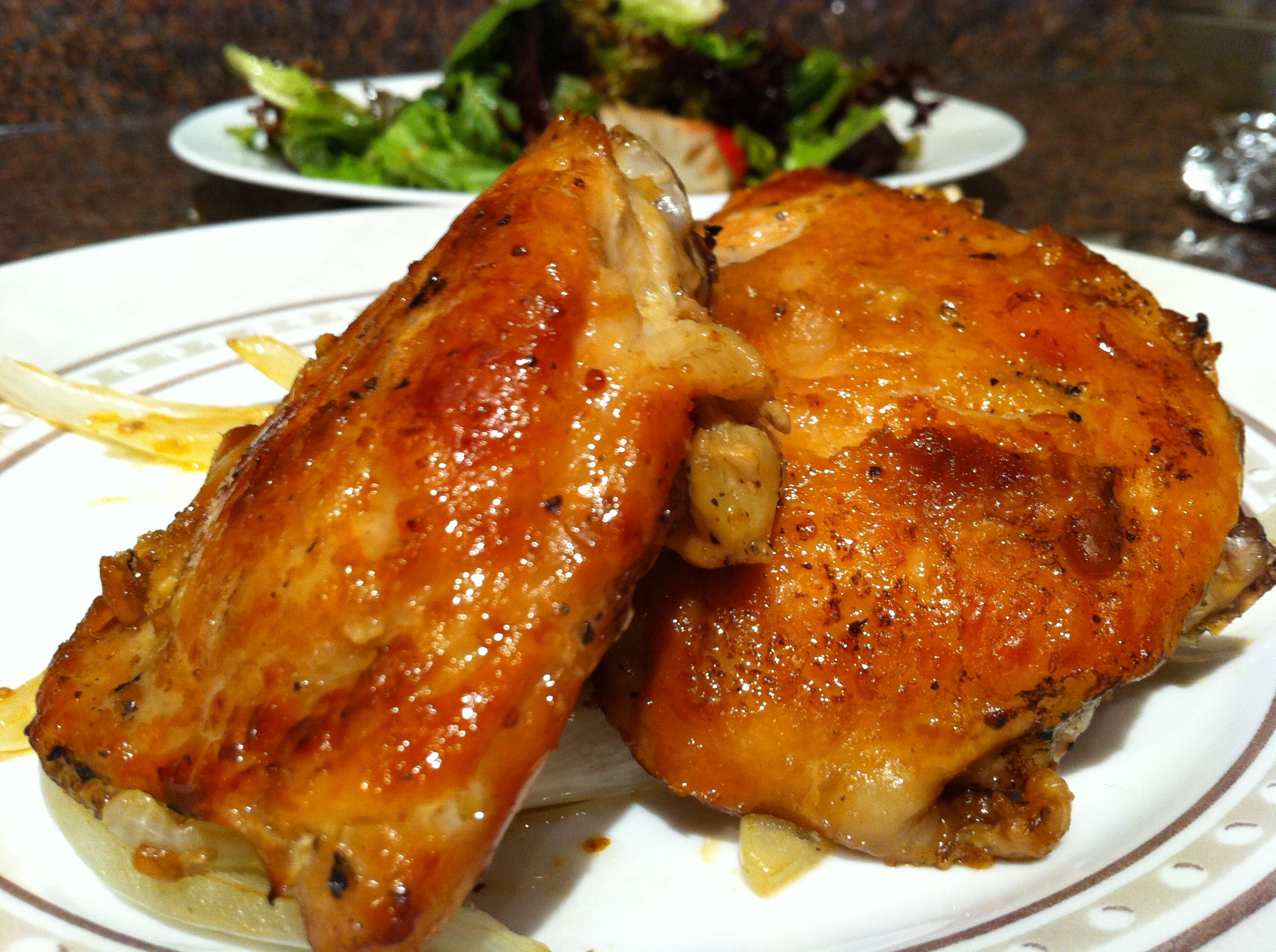 Oven-baked Doenjang Chicken!   Virginialicious